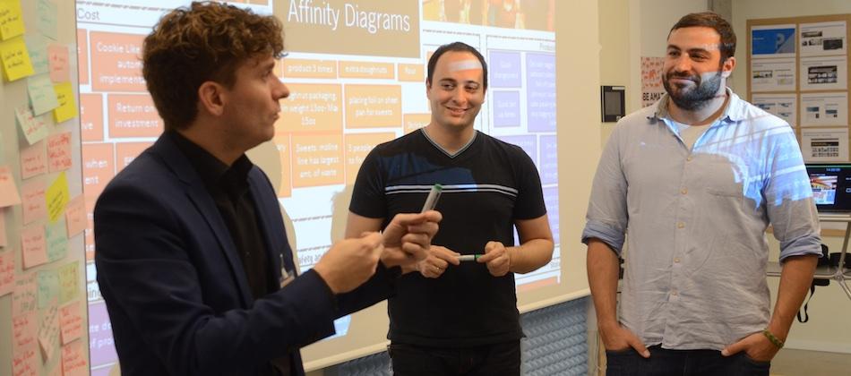 Sebastian Denef, Andre Wenz, Gennadi Rabinovich, IPERF training, Potsdam, Nov 2015