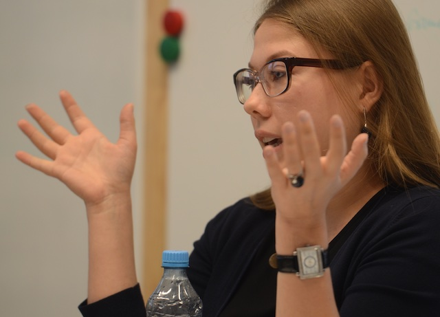 Tatiana Bobrus IPERF Training