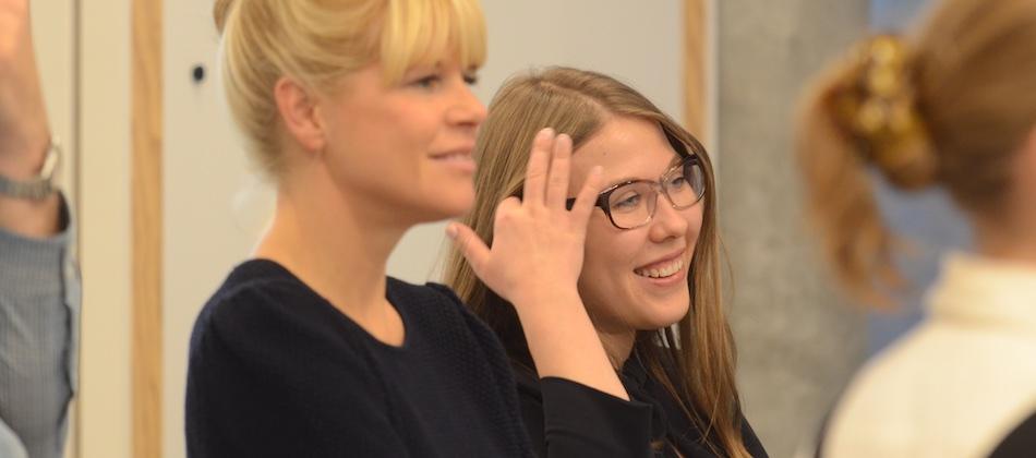 Tatiana Bobrus, Marie-Louise Sadakane, IPERF training, Potsdam, Nov 2015