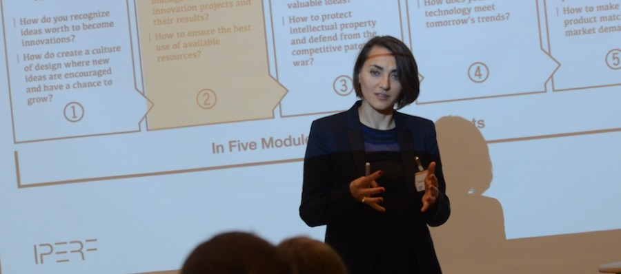 Tatjana Samsonowa, Innovation Mgmt, IPERF training, Potsdam, Nov 2015
